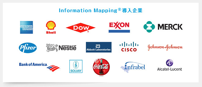Information Mapping 導入企業